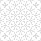 Geometric Seamless Pattern. Geometric ornament with fine elements. Seamless light silver pattern for wallpapers and backgrounds Royalty Free Stock Photos