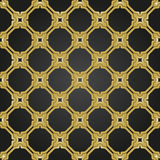 Geometric Seamless Pattern. Geometric ornament with golden elements. Seamless pattern for wallpapers and backgrounds Royalty Free Stock Images