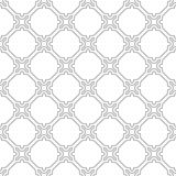 Geometric Seamless Pattern. Geometric ornament with light silver elements. Seamless pattern for wallpapers and backgrounds Stock Image