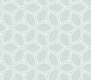 Geometric Seamless Pattern. Seamless ornament. Modern geometric pattern with repeating elements. Light blue and white pattern Royalty Free Stock Image