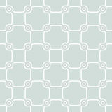 Geometric Seamless Pattern. Seamless ornament. Modern geometric pattern with repeating elements. Light blue and white pattern Royalty Free Stock Images