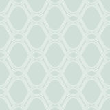 Geometric Seamless  Pattern. Pattern with seamless  ornament. Modern stylish geometric blue background with repeating white wavy elements Stock Photos