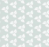 Geometric Seamless Pattern. Seamless ornament. Modern stylish geometric light blue pattern with repeating white elements Stock Image