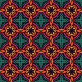 Geometric seamless pattern ornamental. Abstract classic vintage ethnic seamless pattern ornamental tiles Stock Photo