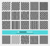 Geometric Seamless Pattern Pack 001 Stock Photos
