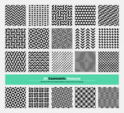 Geometric Seamless Pattern Pack 003 Stock Photo