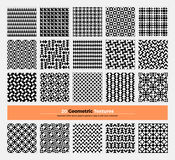Geometric Seamless Pattern Pack 004 Stock Images