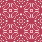 Geometric seamless pattern. Pale red and beige background. For wallpapers, textile and fabrics Royalty Free Stock Photography