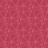 Geometric seamless pattern. Pale red and beige background. For wallpapers, textile and fabrics Royalty Free Stock Images