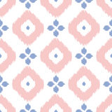 Geometric seamless pattern in pantone color of the Stock Images