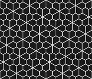 Geometric seamless pattern with pentagons Royalty Free Stock Images