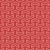Geometric Seamless Pattern. Geometric pattern with pink arrows. Seamless abstract background stock illustration