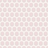 Geometric Seamless  Pattern with Pink Octagons Royalty Free Stock Photo