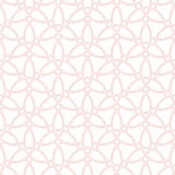 Geometric Seamless Pattern. Seamless pink ornament. Modern geometric pattern with repeating elements Stock Photo