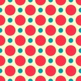 Geometric seamless pattern in retro style Stock Image