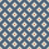 Geometric seamless pattern in retro style. Stock Image