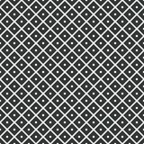 Geometric seamless pattern. rhombuses with dots inside. Vector Stock Photo