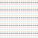 Abstract geometric seamless pattern in scandinavian style. Stock Images