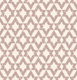 Geometric seamless pattern with scratches Royalty Free Stock Images
