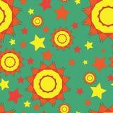 Geometric seamless pattern, seamless background Stock Images