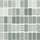 50 geometric seamless pattern set. Stock Images