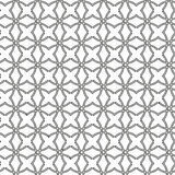 Geometric Seamless Pattern. Geometric silver ornament with fine elements. Seamless pattern for wallpapers and backgrounds Stock Images