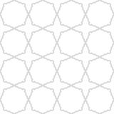 Geometric Seamless Pattern. Geometric silver ornament. Seamless pattern for wallpapers and backgrounds Stock Images