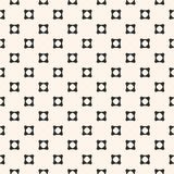 Geometric seamless pattern, small concave perforated squares Stock Photos
