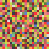 Geometric seamless pattern of square, abstract background. Checkered design, bright multicolored squares. For the. Design of wallpaper, wrap, fabric. Vector Stock Photos