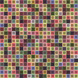 Geometric seamless pattern of square, abstract background. Checkered design, bright multicolored squares. For the. Design of wallpaper, wrap, fabric. Vector Royalty Free Stock Photography