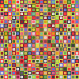 Geometric seamless pattern of square, abstract background. Checkered design, bright multicolored squares. For the. Design of wallpaper, wrap, fabric. Vector Royalty Free Stock Photos