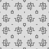 Geometric Seamless Pattern Royalty Free Stock Photos