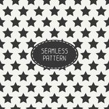 Geometric seamless pattern with stars. Wrapping Royalty Free Stock Image