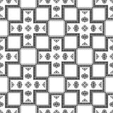 Geometric seamless pattern. texture in vector format EPS 10. Template for your creativity. Royalty Free Stock Images