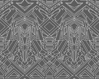Geometric seamless pattern transformer. Line Art. EPS 8 Royalty Free Stock Photos