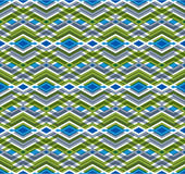 Geometric seamless pattern with transparent impose rhombs Stock Image