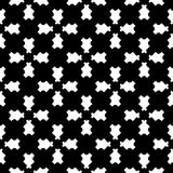 Geometric seamless pattern, traversal carved figures Stock Photography