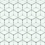 Geometric seamless pattern with triangles Royalty Free Stock Photography