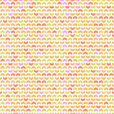 Geometric Seamless Pattern. Geometric pattern with triangles. Seamless abstract background. Pattern with colorful arrows stock illustration