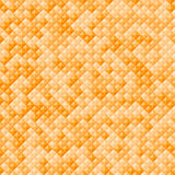 Geometric seamless pattern from triangles. Orange autumn vector abstract background Royalty Free Stock Photography