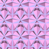 Geometric seamless pattern  from triangles. Grey  illustration. Royalty Free Stock Images