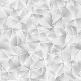 Geometric seamless pattern from triangles Stock Photos