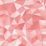 Geometric seamless pattern from triangles Royalty Free Stock Photography