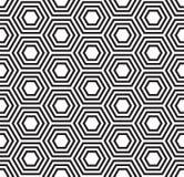 Geometric seamless pattern. Turtle shell pattern Royalty Free Stock Image