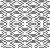 Geometric seamless pattern. Turtle shell pattern Royalty Free Stock Images