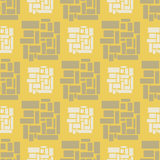 Geometric seamless pattern Stock Photos