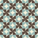 Geometric seamless pattern. Royalty Free Stock Images