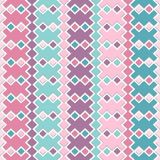 Geometric seamless pattern. Vector colorful geometric seamless pattern Stock Illustration
