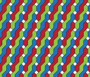 Geometric seamless pattern. Stock Photos