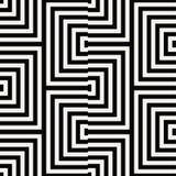 Geometric  seamless pattern vector Royalty Free Stock Photos